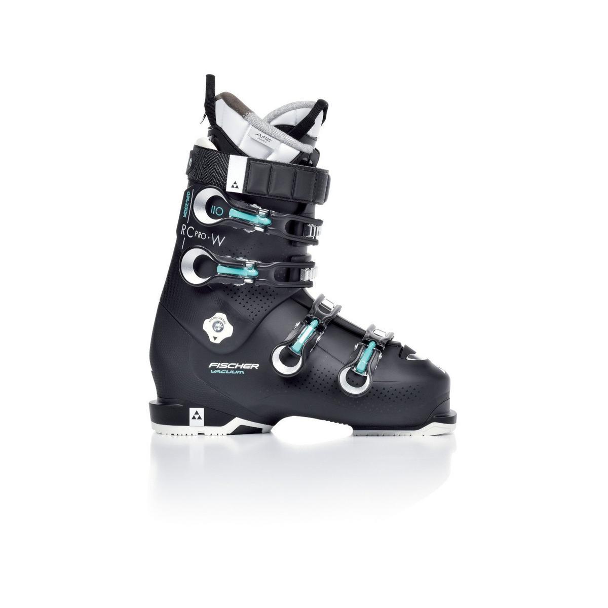 Fischer Women's RC Pro 110 Vacuum Full Fit Ski Boot - Black
