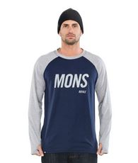 Men's Coreshot Raglan Long Sleeve Top