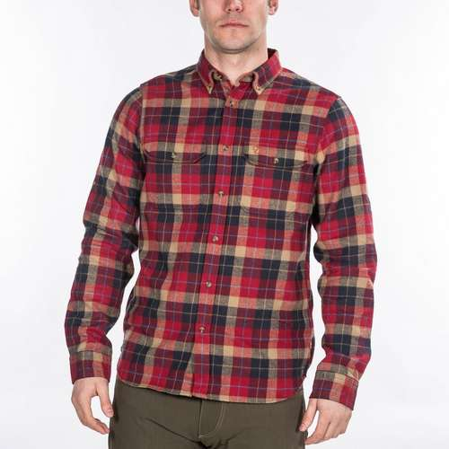 Men's Singi Heavy Flannel Long Sleeve Shirt