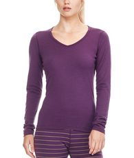 Women's Oasis Long Sleeve V Neck Baselayer