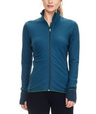 Women's Descender Long Sleeve Zip Midlayer