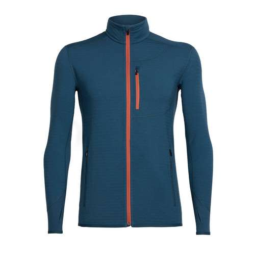 Men's Descender Long Sleeve Zip Midlayer