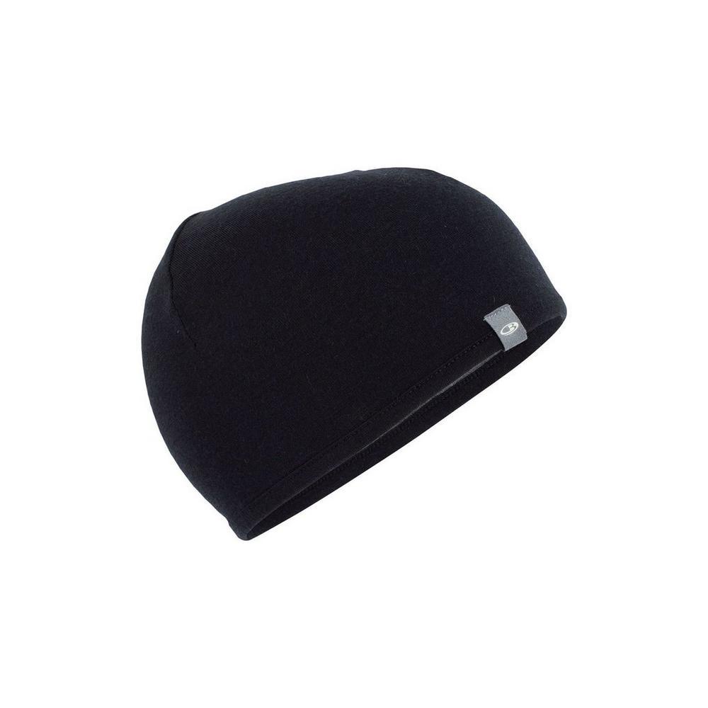 Icebreaker Unisex Icebreaker Pocket Hat - Black