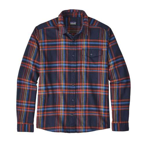 Men's Lightweight Long Sleeved Fjord Flannel Shirt