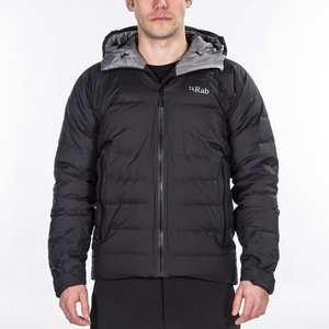 Men's Valiance Waterproof Down Jacket - Black