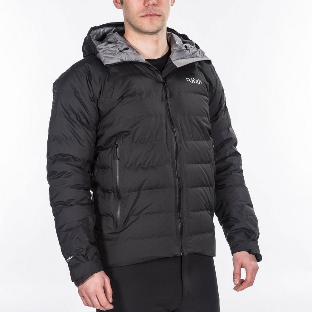Rab Men's Rab Valiance Waterproof Down Jacket - Black