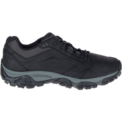 5f5c1b509 Black Merrell Mens Moab Adventure Lace Trail Shoe ...