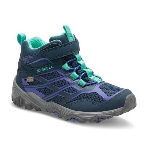 Girls Moab FST Mid A/C Waterproof Walking Boots