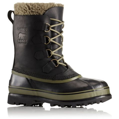f1d0e8287cf1 Sorel Men's Caribou Waterproof Leather Boots ...