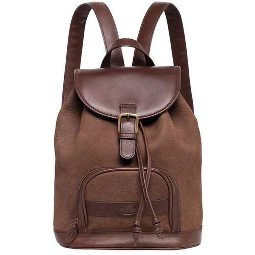 Women's Mourne Leather Rucksack