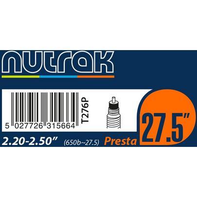 Nutrak 27.5 X 2.2 - 2.5 (650B) Presta Valve Inner Tube