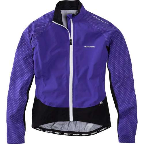 Womens Sportive Hi-Viz Waterproof Jacket