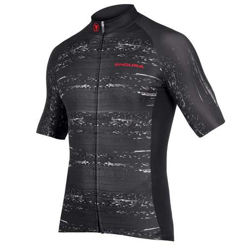 Graphic Geologic Short Sleeve Cycling Jersey