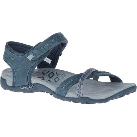 6feaaeac3efe8d Black Merrell Terran Cross II Sandals ...