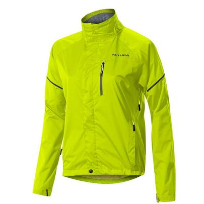 Altura Women's Nevis III Waterproof Jacket - Hi Vis Yellow