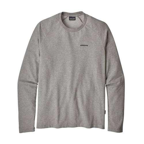 Men's P6 Logo Crew Grey Sweatshirt