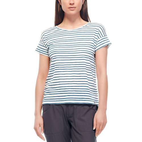 Women's Aria Scoop Pulled Lines T-shirt