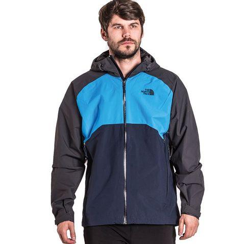 0d5fa5a011f4 Grey The North Face Men's Stratos Jacket ...