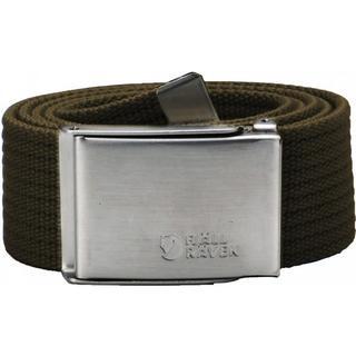 Men's Canvas Belt - Dark Olive