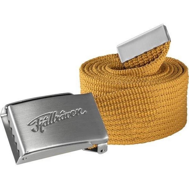 Unisex Övik Webbing Belt- Golden Yellow