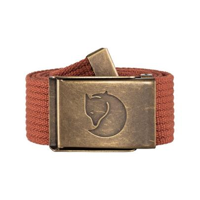 Fjallraven Men's Canvas Brass Belt 4 cm - Autumn Leaf
