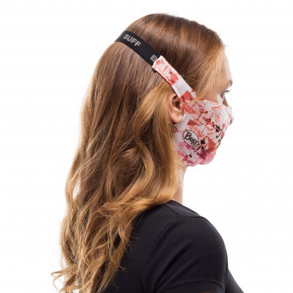 Buff Unisex Filter Mask - Orange