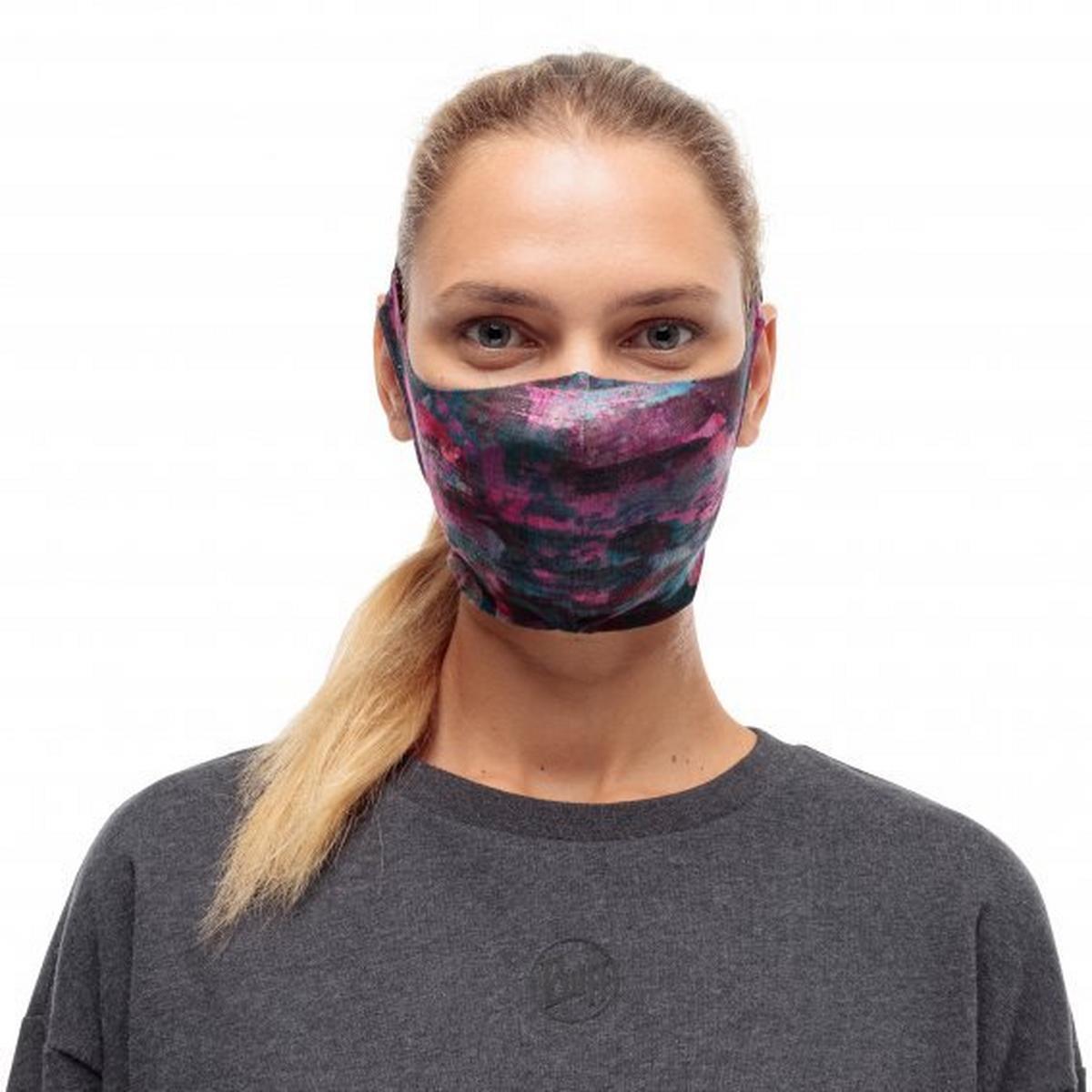 Buff Unisex Filter Mask - Nastia Purple