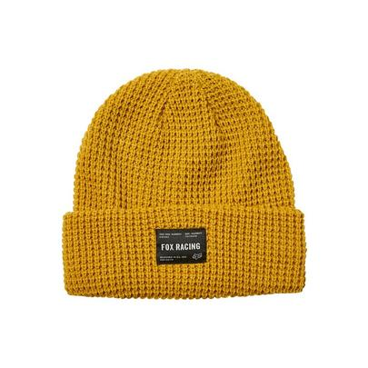 Fox Reformed Beanie - Yellow