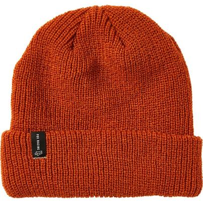 Fox Machinist Beanie - Burnt Orange