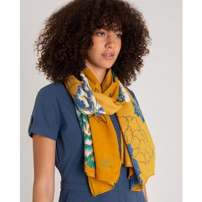 Sherpa Adventure Women's Samir Scarf - Yellow
