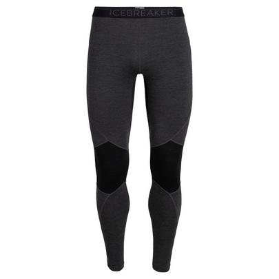 Icebreaker Men's Bodyfitzone Merino 260 Zone Thermal Leggings - Black