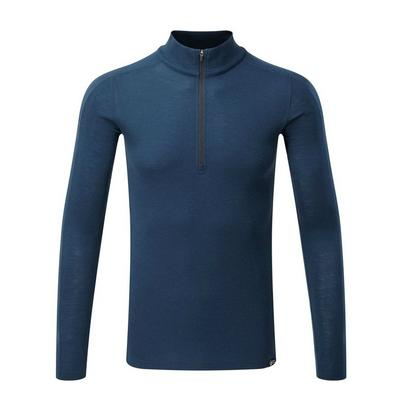 North Ridge Men's Convect 200 Merino Long Sleeve Zip Top