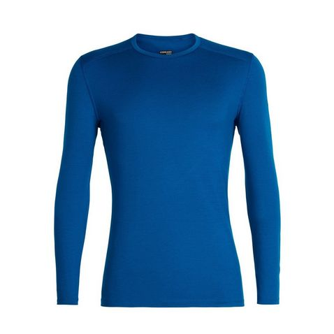 7db4f499307d17 Blue Icebreaker Men s 200 Oasis Crewe Baselayer
