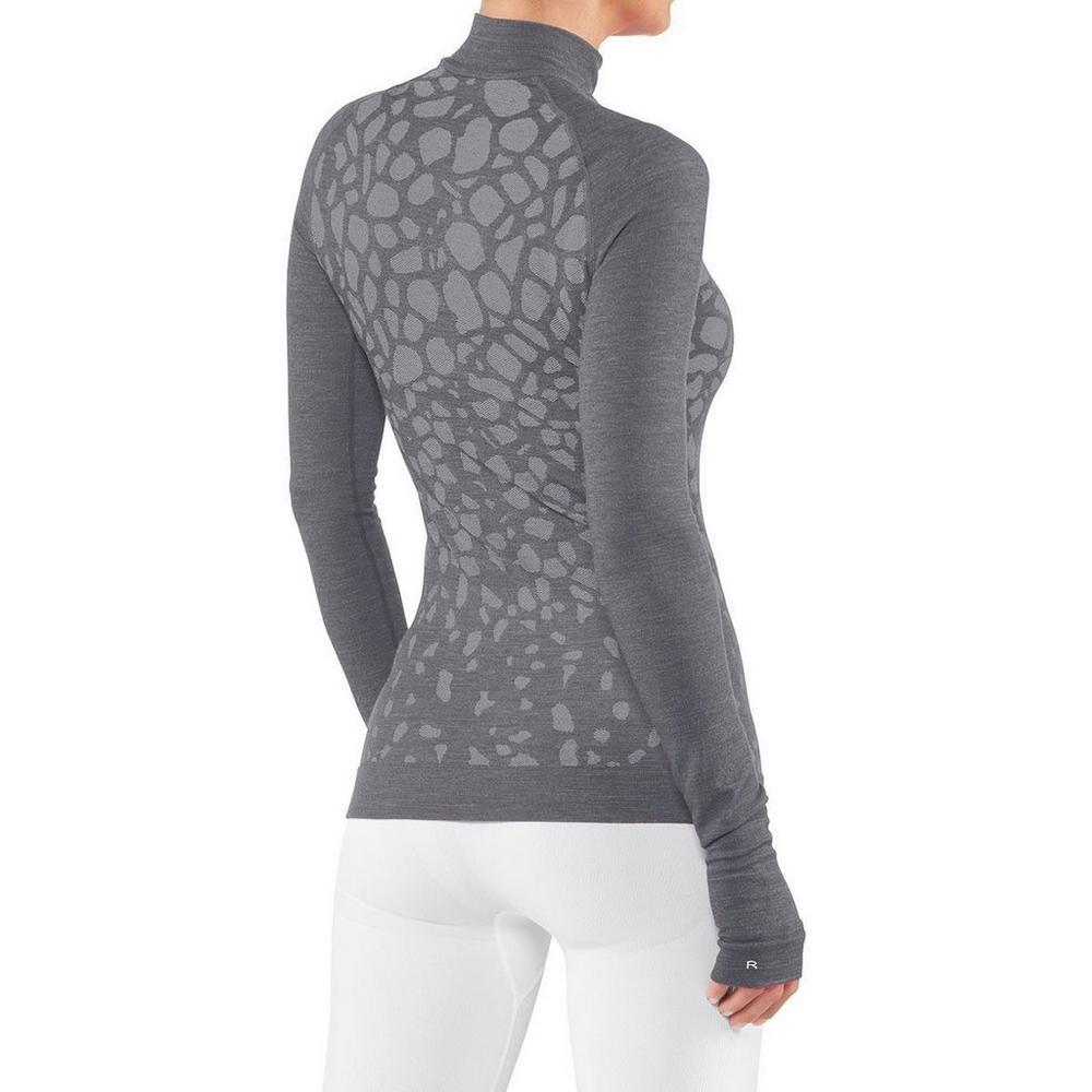 Falke Women's Falke LS Shirt Trend Reg Fit - Grey