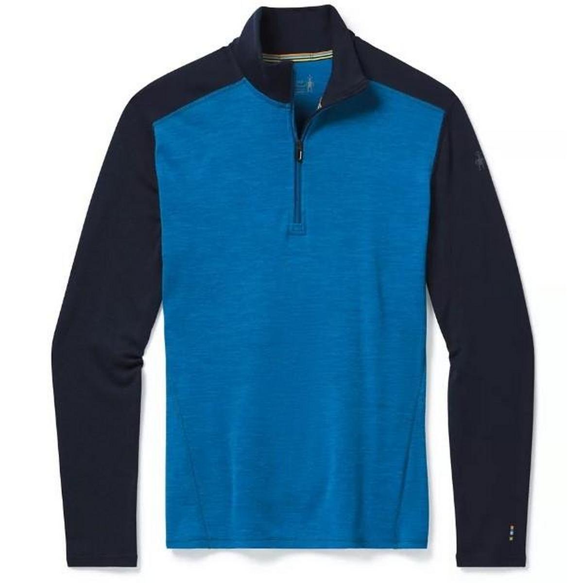 Smartwool Men's Smartwool Merino 250 Baselayer 1/4 Zip - Blue