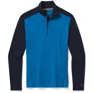 Men's Smartwool Merino 250 Baselayer 1/4 Zip - Blue