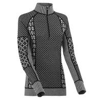 Women's Smekker Half-Zip Baselayer - Black