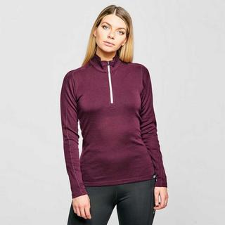 Women's Convect 200 Merino LS Zip - Purple