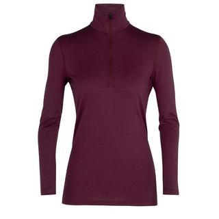 Women's 200 Oasis Long-Sleeved Half Zip - Brazilwood