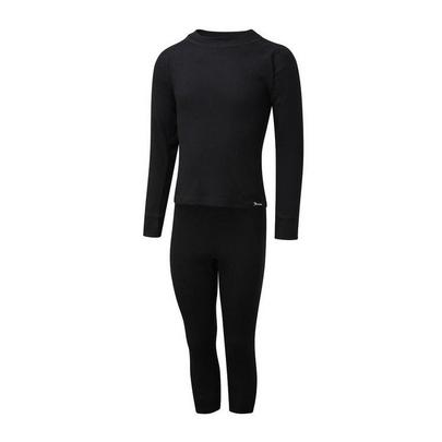 The Edge Kid's Thermal Set - Black