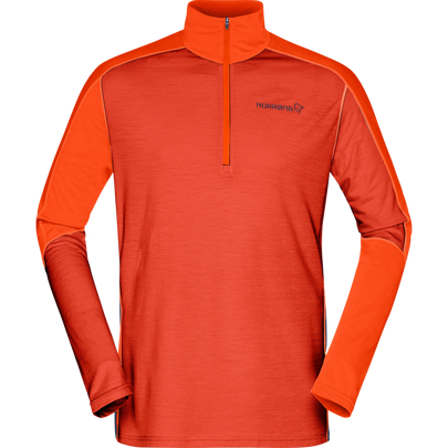 Norrona Men's Equaliser Merino Zip Neck