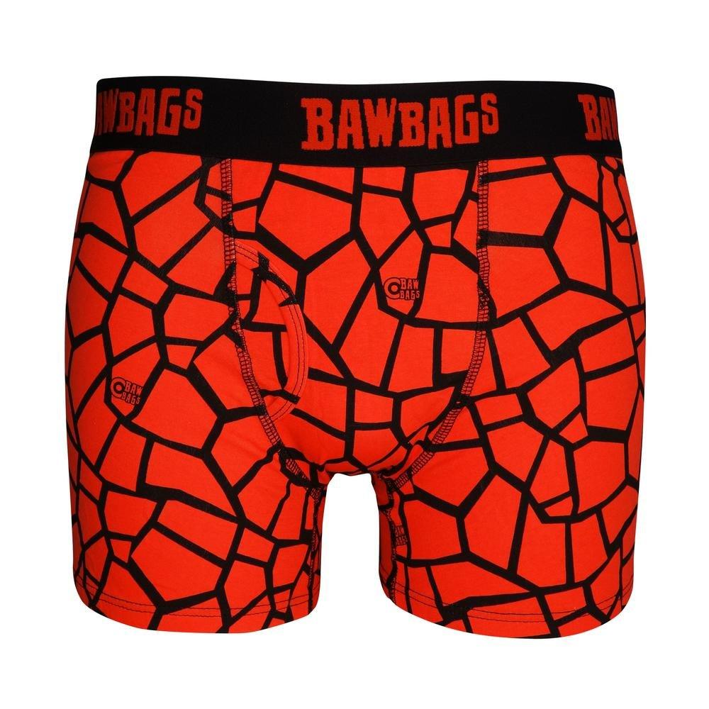 Bawbags Men's Cotton Boxers 3 Pack Techno Safari