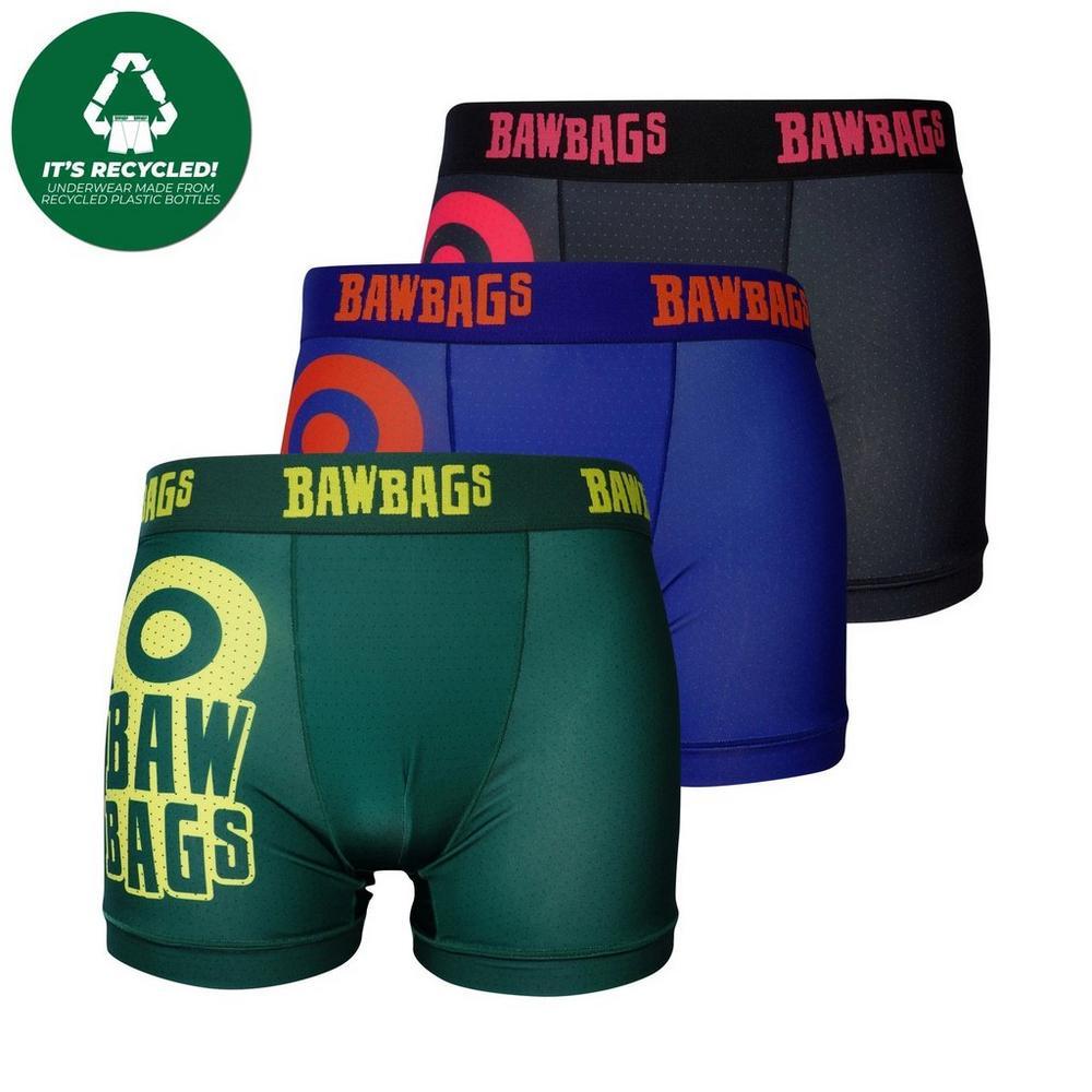 Bawbags Men's Bawler Triple Pack - Multi