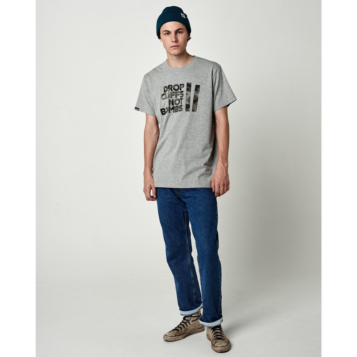 Planks Men's Drop Cliffs T-shirt - Grey