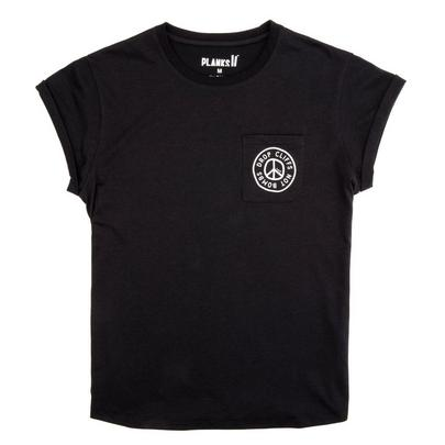Planks Women's Peace Relaxed Pocket Tee