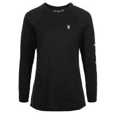 Planks Women's Sticks LS T-Shirt - Black