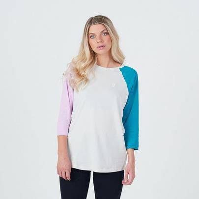 Planks Women's Sticks LS T-Shirt - Bone