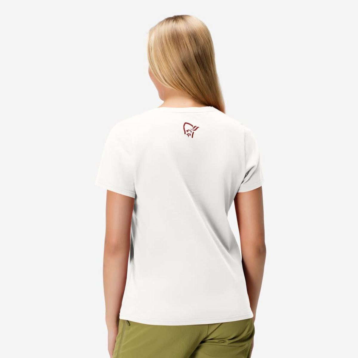 Norrona Women's /29 Cotton Legacy T-Shirt - White