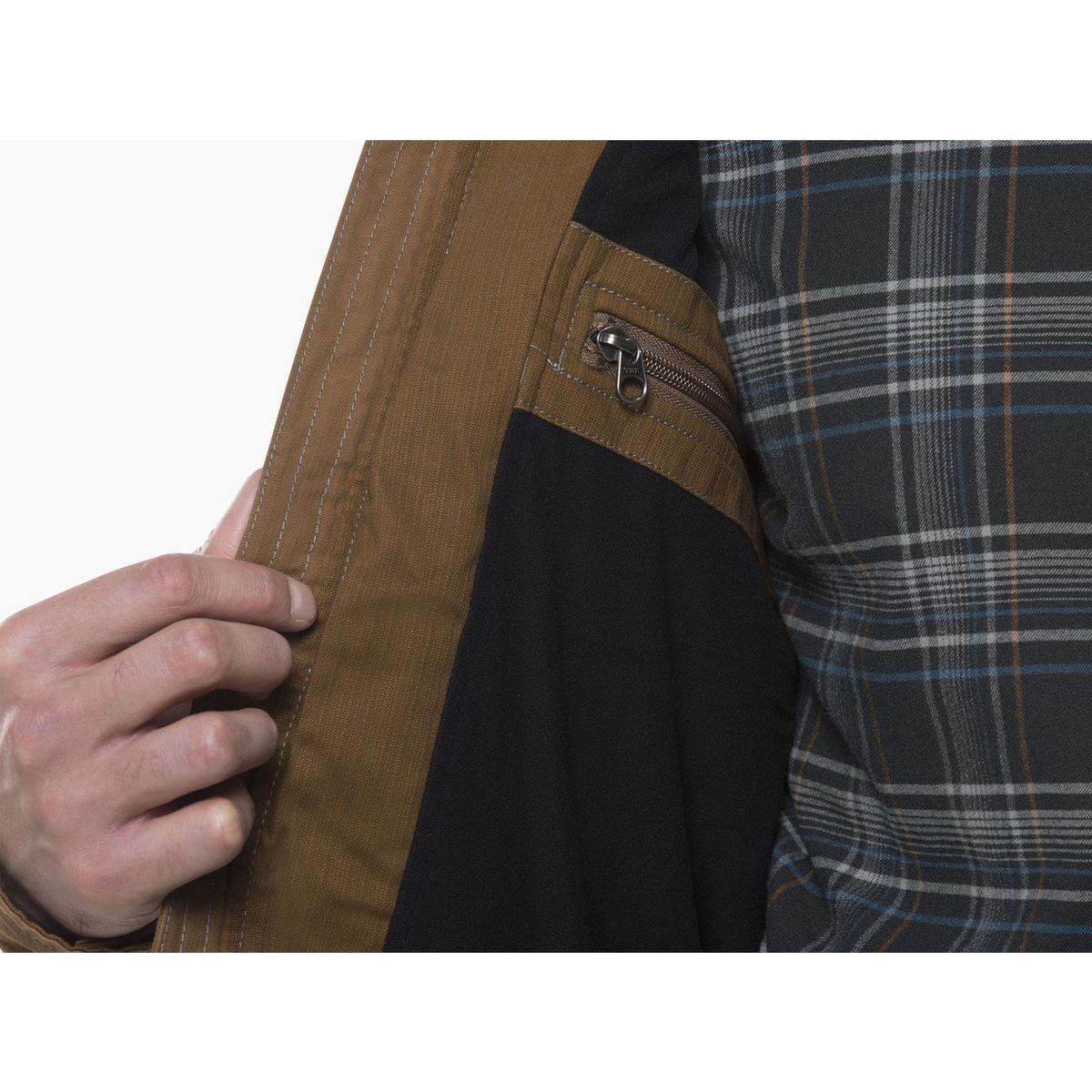 Kuhl Men's Burr Jacket- Gun Metal