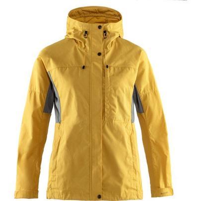 Fjallraven Women's Kaipak Jacket - Yellow